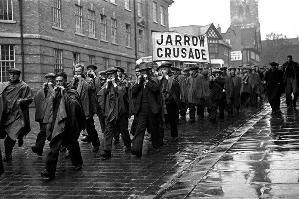 Scenes from the Jarrow Crusade, 1936